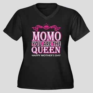 Momo You Are The Queen Happy Mot Plus Size T-Shirt