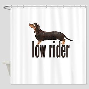 Daschund Sausage Dog Shower Curtain