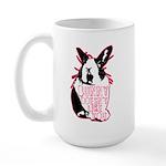 Bunny Doesn't Like You Large Mug