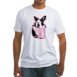 Bunny Doesn't Like You Fitted T-Shirt