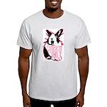 Bunny Doesn't Like You Light T-Shirt