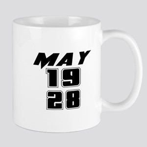 May 1928 Birthday 11 oz Ceramic Mug