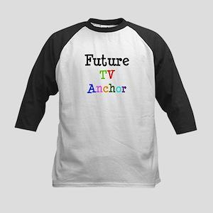 TV Anchor Kids Baseball Jersey