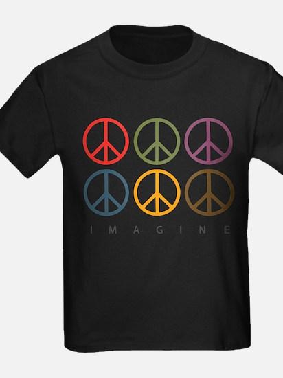 Imagine - Six Signs of Peace T