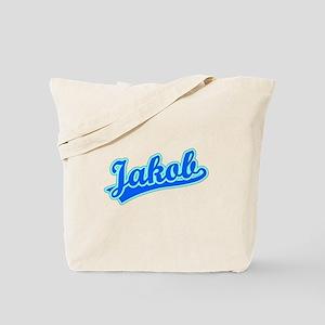 Retro Jakob (Blue) Tote Bag