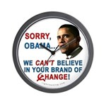Sorry, Obama! Wall Clock