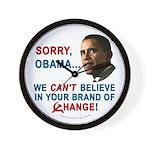 Sorry, Obama! Wall Clock