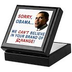 Sorry, Obama! Keepsake Box