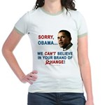 Sorry, Obama! Jr. Ringer T-Shirt