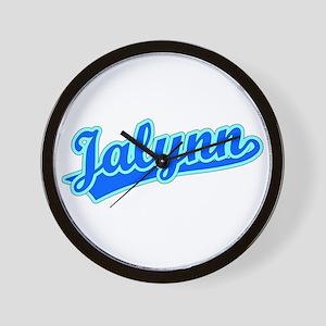 Retro Jalynn (Blue) Wall Clock