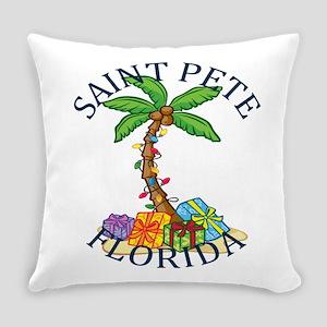 Summer saint pete- florida Everyday Pillow