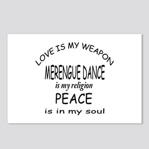Merengue dance Is My Reli Postcards (Package of 8)
