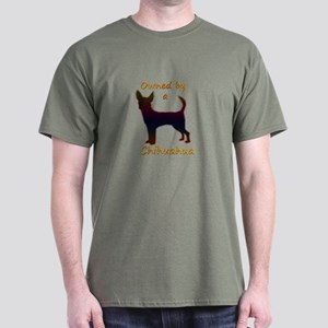Owned by Chihuahua Dark T-Shirt