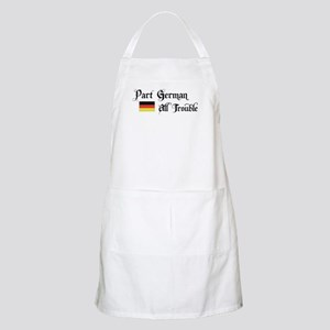 Part German All Trouble BBQ Apron