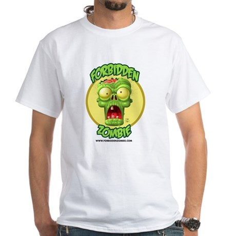 White Forbidden Zombie T-Shirt
