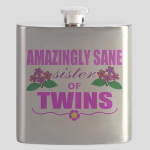 Twins sister sane Flask