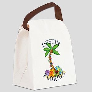 Summer destin- florida Canvas Lunch Bag