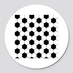 Round Car Magnet