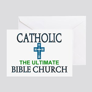 Catholic Bible Church Greeting Cards (Pk of 10)