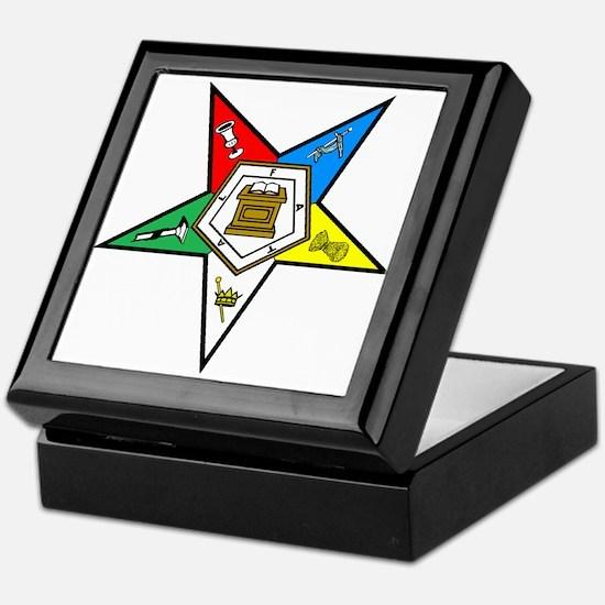OES Tile Keepsake Box