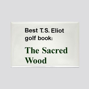 Eliot on Golf Rectangle Magnet