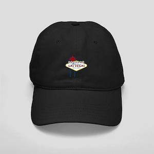 Las Vegas Sign Black Cap