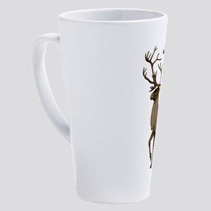 IM STRONGER 17 oz Latte Mug