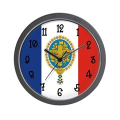 French Flag Wall Clock