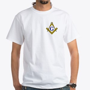 S&C Crest White T-Shirt