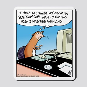 Pop Up Weasel Mousepad