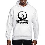 Humorous Hillary Hooded Sweatshirt
