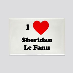 Sheridan Le Fanu Rectangle Magnet