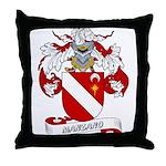 Manzano Family Crest Throw Pillow
