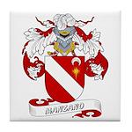 Manzano Family Crest Tile Coaster