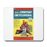 """Mousepad - """"Andy's Encyclopedia"""""""
