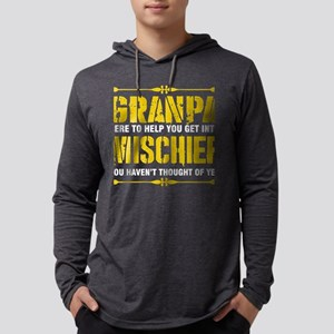 Granpa Here To Help You Get In Long Sleeve T-Shirt