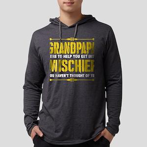 Grandpapa Here To Help You Get Long Sleeve T-Shirt