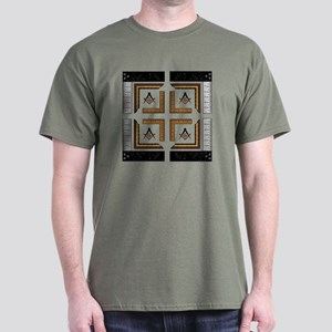 Square Design No. 3 Dark T-Shirt