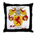 Medina Family Crest Throw Pillow