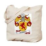 Medina Family Crest Tote Bag