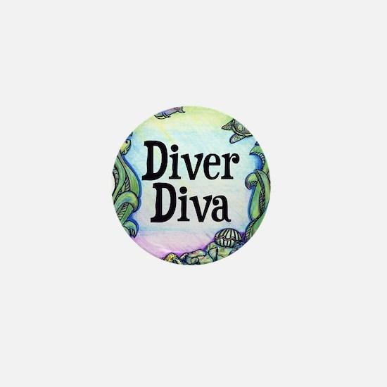 Diver Diva Box Mini Button