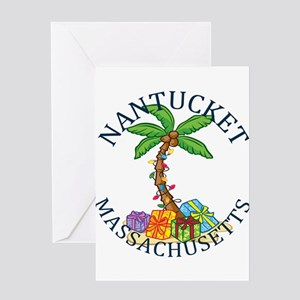 Summer nantucket- massachusetts Greeting Cards