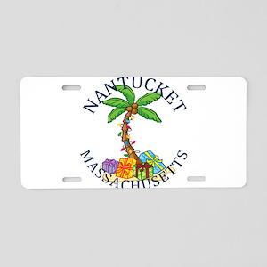 Summer nantucket- massachus Aluminum License Plate