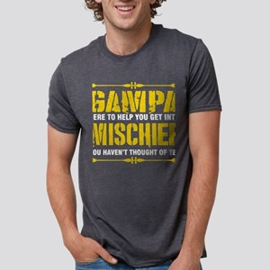 Gampa Here To Help You Get Into Mischief T-Shirt