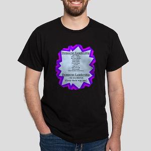 """Democrat Leaders?"" Dark T-Shirt"