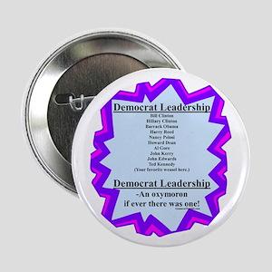 """Democrat Leaders?"" 2.25"" Button"