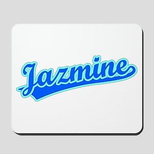 Retro Jazmine (Blue) Mousepad