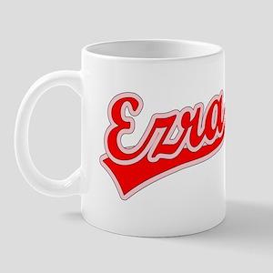 Retro Ezra (Red) Mug