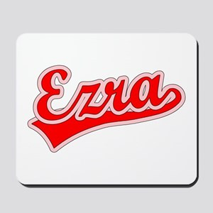 Retro Ezra (Red) Mousepad