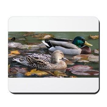 Mallard Couple Mousepad
